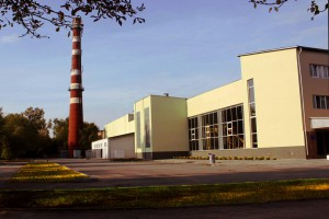 The main building of the plant
